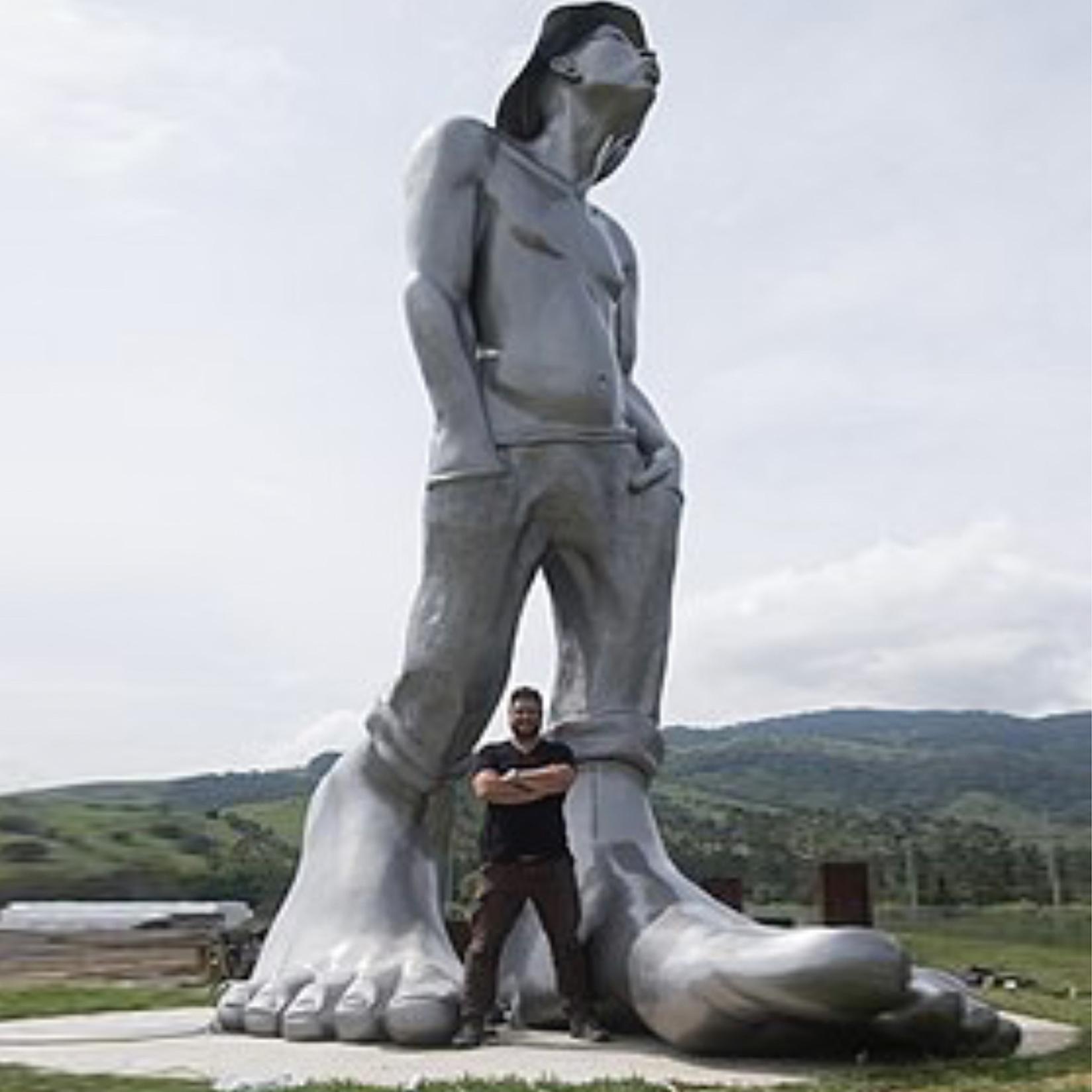 Zareski Siffleur sculpture monumentale